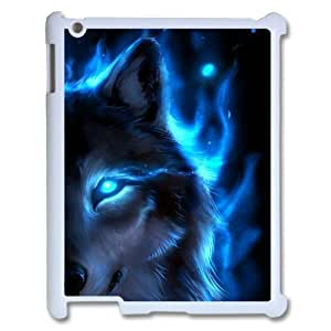 Animal Wolf Customized Durable Hard Plastic Case Cover LUQ146036 For Ipad2,3,4