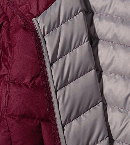 Giacca Donna e Lunga Piumino 2 L18 Leggero Invernale Corto da Cappotto Manica Caldo Bordeaux LAPASA w1Edfqf