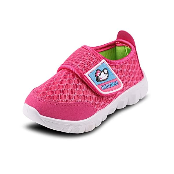 Baby Sneaker Shoes for Girls Boy Kids Breathable Mesh Light Weight Athletic Running...