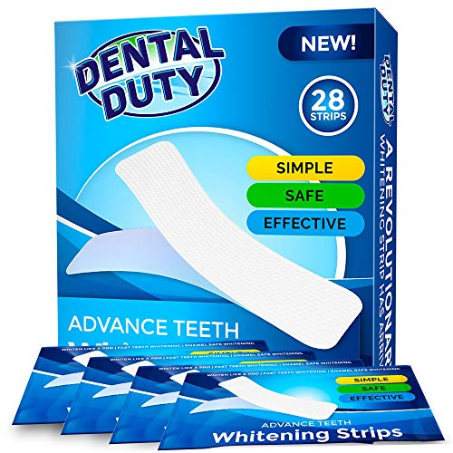 Professional Teeth Whitening Strips- Pack of 28- Whiten Your Tooth With The Best 3D Dental Whitestrips- Removes Coffee, Tea & Tobacco Stains From Teeth. Get Better Results Than Crest White Strip (Best Way To Remove Tobacco Stains From Teeth)
