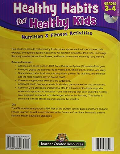 Healthy Habits For Healthy Kids Grade 3-4