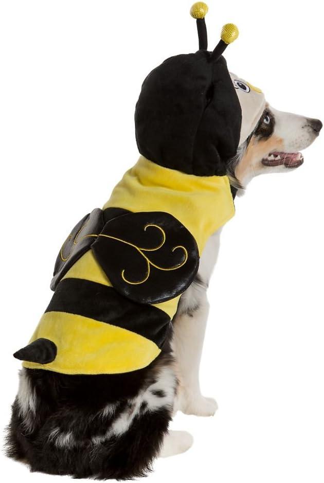 Thrills & Chills Pet Halloween Bumblebee Pet Costume~Medium~