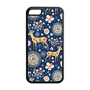 5s for you Phone Cases, Deer Hard TPU Rubber Cover Case for iPhone 5s for you