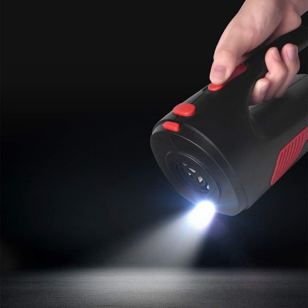 Handheld Piccolo aspirapolvere, aspirapolvere for Uso Domestico Automobile, (30x5.5x8.5CM) Xuan - Worth Having (Color : Black) Black
