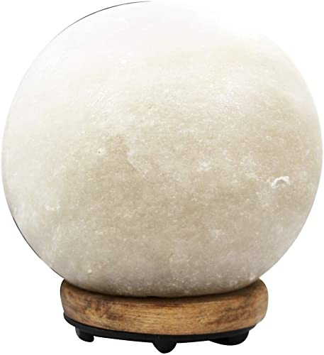 EVOLUTION SALT COMPANY White Sphere Himalayan Salt Lamp