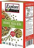 Explore Cuisine Organic Mung Bean Rotini, Gluten Free, Vegan, non-GMO, 8 oz (Pack of 6)