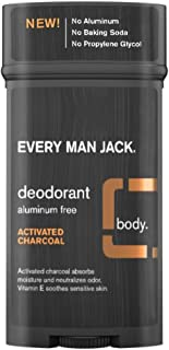 product image for Every Man Jack Deodorant 2.7 Ounce Activated Charcoal (3 Pack)