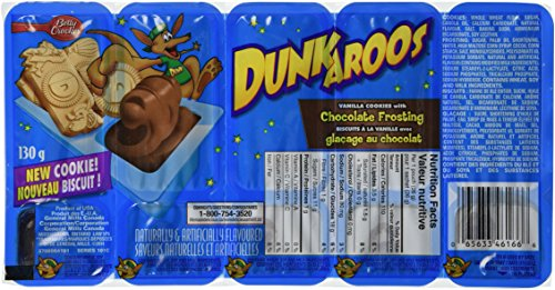 Dunkaroos Chocolate Frosting Canada count