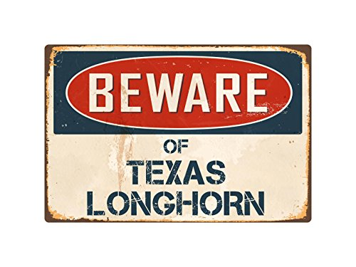 StickerPirate Beware of Texas Longhorn 8