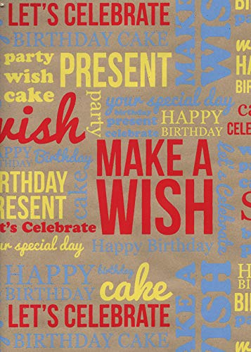 Papel de regalo para cumpleaños, color rojo, color rosso ...