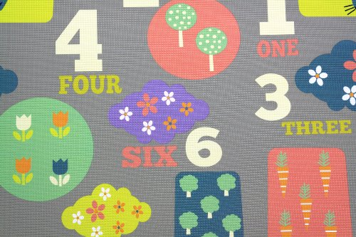 Baby Care Play Mat Letters Amp Numbers Grey Large Baby