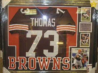 buy online aa7a0 fb3dd Joe Thomas Signed Jersey - Framed Coa Nice! - JSA Certified ...