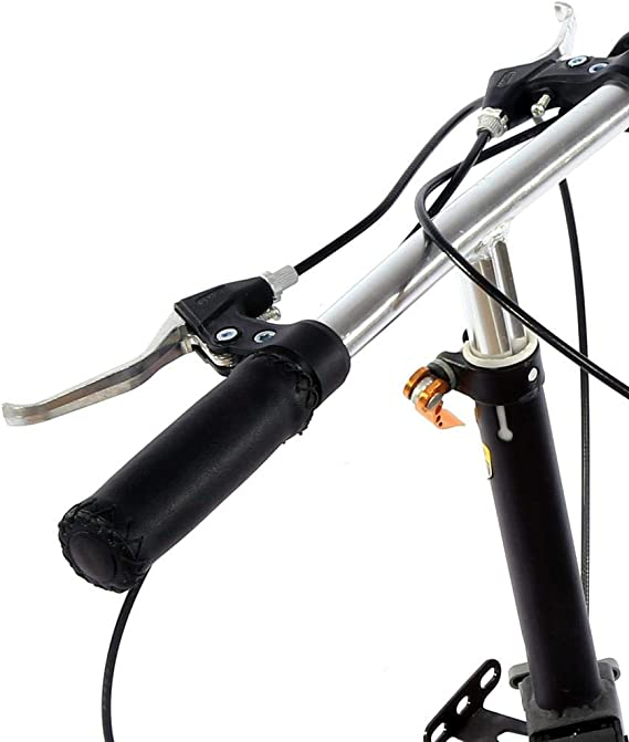 Cycling Handlebar Cover Handle Soft Retro PU Leather Faux Leather Durable