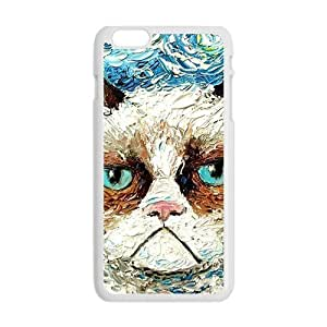 Aggrieved White cat Cell Phone Case Cover For SamSung Galaxy Note 4