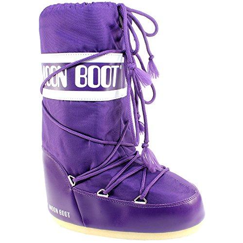 originali Nylon Tecnica Donna Boot Moon Boots Nero Snow xHqFqI8w