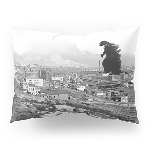 Society6 Old Time Godzilla Pillow Sham Standard (20'' x 26'') Set of 2 by Society6