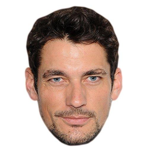 David Gandy Celebrity Mask, Card Face and Fancy Dress Mask