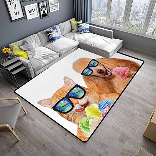 Animal,Large Floor Mats for Living Room 48