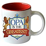 Opa is the Greastest/Color Ceramic Coffee Mug