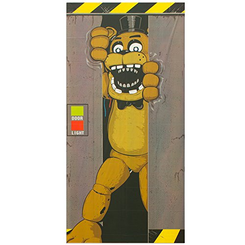Forum Novelties Five Nights at Freddy's Door Cover -
