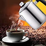 Cook N Home 8-Cup Stainless Steel Stovetop Coffee