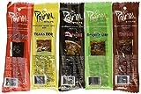 Primal Strips Meatless Vegan Jerky-Variety Gift Pack Sampler; 24 Assorted 1 Ounce Strips