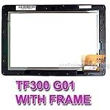 Di ricambio per Asus Eee Pad Transformer TF300T TF300 TF330TG Touch Screen Digitizer 69, 10i21, G01 con cornice