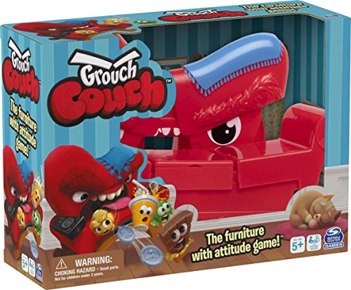 Grouch Couch, Furniture with Attitude Game for Families and Kids Ages 5 and up