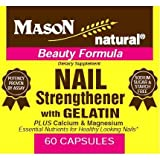Mason Vitamins Nail Strengthened with Gelatine Capsules, 60 Count