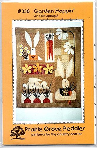 Garden Hoppin' Wall-hanging Quilt Pattern from Prairie Grove Peddler 40
