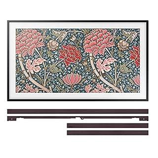 "Samsung QN43LS03RA 43"" The Frame 4K Ultra High Definition Smart QLED TV with a Samsung VG-SCFN43DP 43"" Customizable Brown Bezel For The Frame TV (2019)"