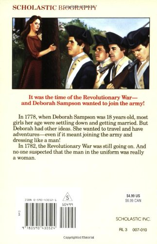 the secret soldier the story of deborah sampson summary