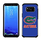 Prime Brands Group Textured Team Color Cell Phone Case for Samsung Galaxy S8 Plus - NCAA Licensed University of Florida Gators