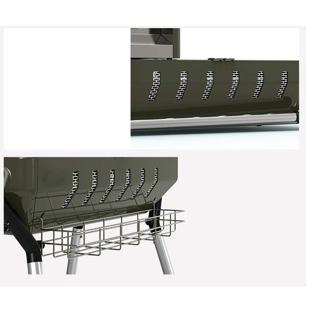 XAJGW Parrilla para barbacoa Barbacoa de carbón Barbacoa ...