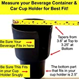Gadjit Cup Keeper 2-Pack - Car Cup Holder Adapter