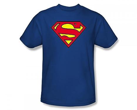 Mens Superman Original Shield T-Shirt DC Comics Free Shipping High Quality BvP7iZ3R