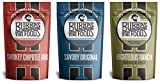 Paleo Snack Mix Bubbas Fine Foods Variety Pack, 3 Flavors,7 Ounce,(Pack of 3)