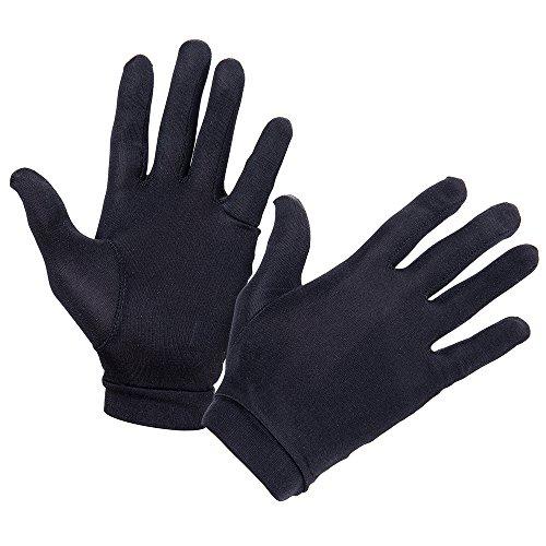 FMS Women's Natural Silk Gloves Elastic Thermal Liner Glove Inner Ski Bike Gloves