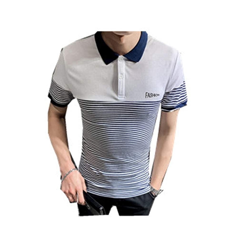 Polo Shirt ice Business Classic Sports Mens Fathers Day