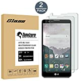 [2 Pack] LG Stylo 2 Tempered Glass Screen Protector[Do Not Fit For LG G Stylo], Anti-Scratch Ultra Clear 9H Premium 0.26mm HD Screen Protector Film for LG G Stylo 2