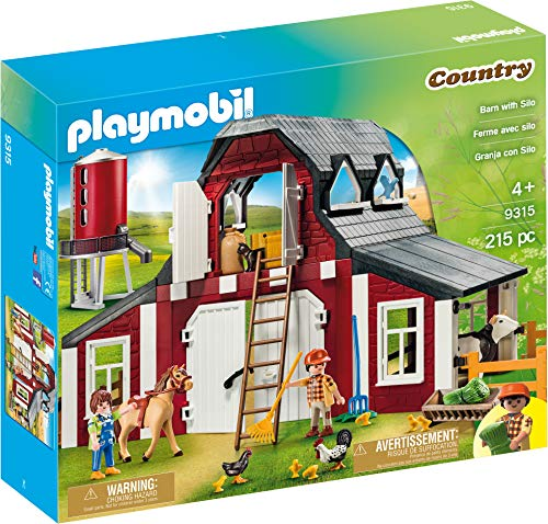 Playmobil Barn with Silo from Playmobil