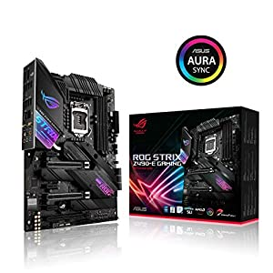 ASUS ROG Strix Z490-E Gaming Z490 (WiFi 6) LGA 1200 (Intel® 10th Gen) ATX Gaming Motherboard (14+2 power stages, DDR4…