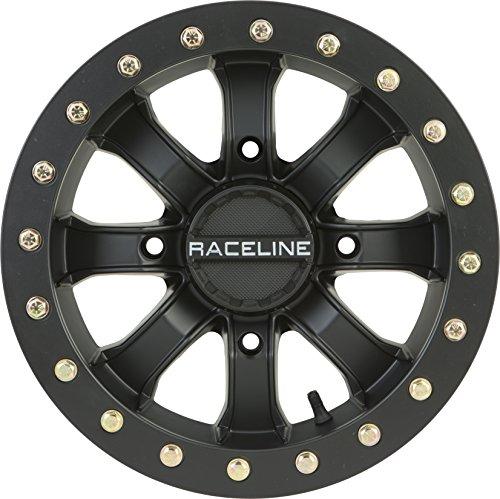 Raceline RT-Mamba Beadlock 14 Matte Black Wheel / Rim 4x156 with a 12mm Offset and a 131 Hub Bore. Partnumber A71B-47056-43 (Offset Locks)