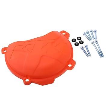 perfk 1 Unidad Cubierta de Caja de Embrague Reemplazbles para Motocicletas: Amazon.es: Coche y moto