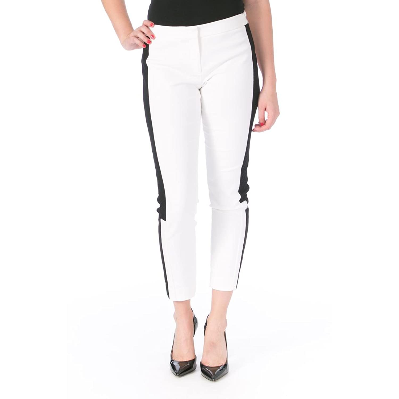 DKNY Womens Mesh Panel Skinny Ankle Pants