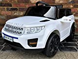Epic Play Ltd Kids My first Range Rover Evoque HSE Sport Style 12v Electric Ride on car- White