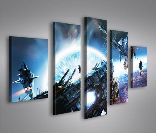 Bilder auf Leinwand Wars V4 MF Star Topseller Kunstdruck von islandburner XXL Poster Leinwandbilder Wandbilder