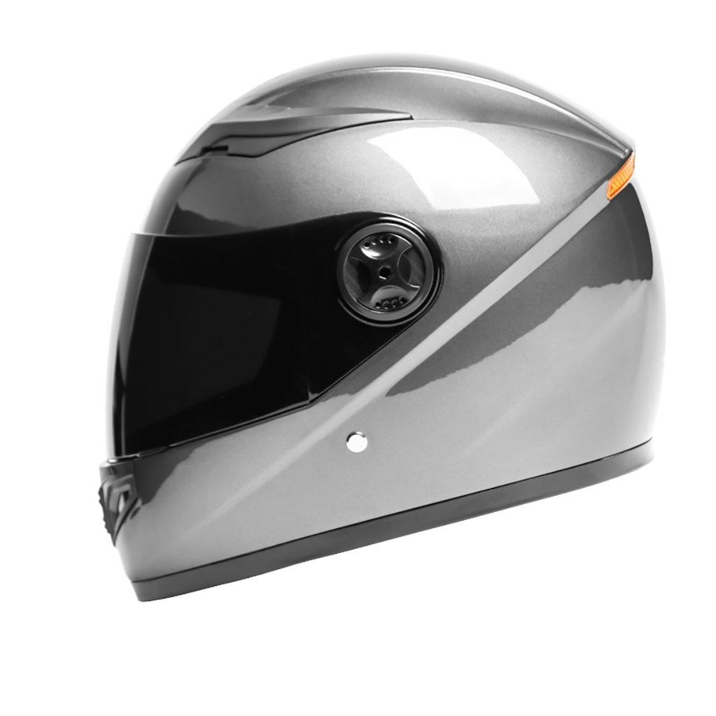 本物の ヘルメット ヘルメット 青)/メンズMオートバイヘルメット夏日保護ヘルメットフォーシーズンユニバーサルマルチカラー軽量パーソナリティファッションヘルメット B07D47R9PN (色 : ヘルメット 青) B07D47R9PN グレー グレー, マロニエゴルフ:ad356f34 --- a0267596.xsph.ru
