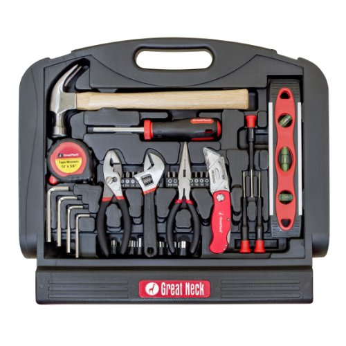 GreatNeck GN48 Multi Purpose Tool Set, 48-Piece