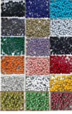 1/8'' Map Tacks - Complete Set Of 18 Colors